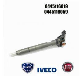 Injecteur C.Rail PIEZO Bosch CRI3.2 0445116019 IVECO Daily 50 S 17 3.0