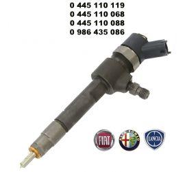 Injecteur C.Rail CRI Bosch CR/IPS19/ZEREK10S 0445110068 LANCIA Thesis 2.4 JTD 10V
