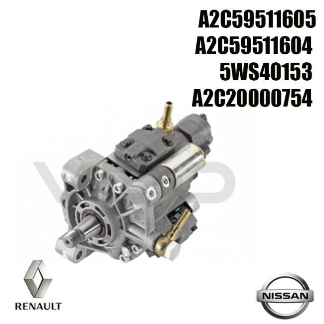 Pompe injection Siemens A2C59511605 NISSAN Tiida