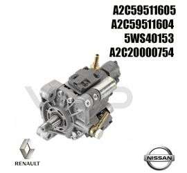 Pompe injection Siemens A2C20000754 NISSAN Qashqai