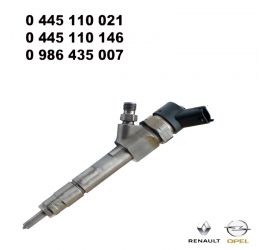 Injecteur C.Rail CRI Bosch CR/IPS19/ZEREK10S 0445110146 RENAULT Laguna 2