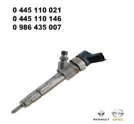 Injecteur C.Rail CRI Bosch CR/IPS19/ZEREK10S 0445110021 RENAULT Laguna I